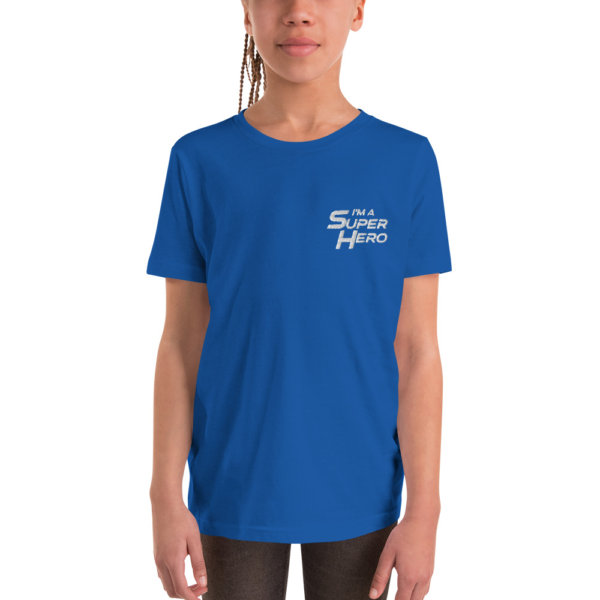 I'm a Superhero - Youth Short Sleeve T-Shirt 4