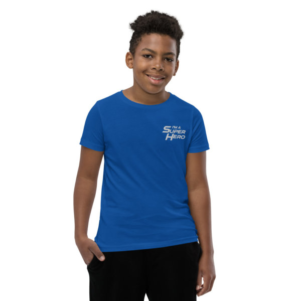 I'm a Superhero - Youth Short Sleeve T-Shirt 6