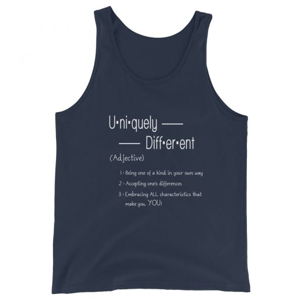 Uniquely Different Definition - Men's Tank Top 3