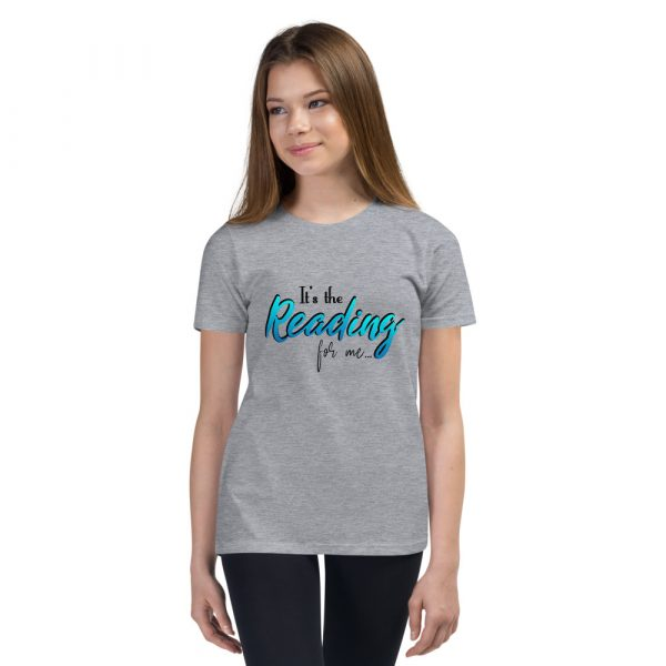 It's The Reading For Me - Youth Short Sleeve T-Shirt 3