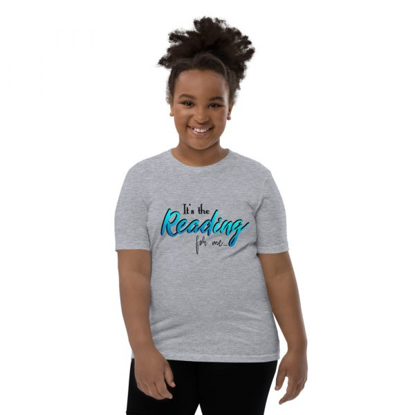 It's The Reading For Me - Youth Short Sleeve T-Shirt 4