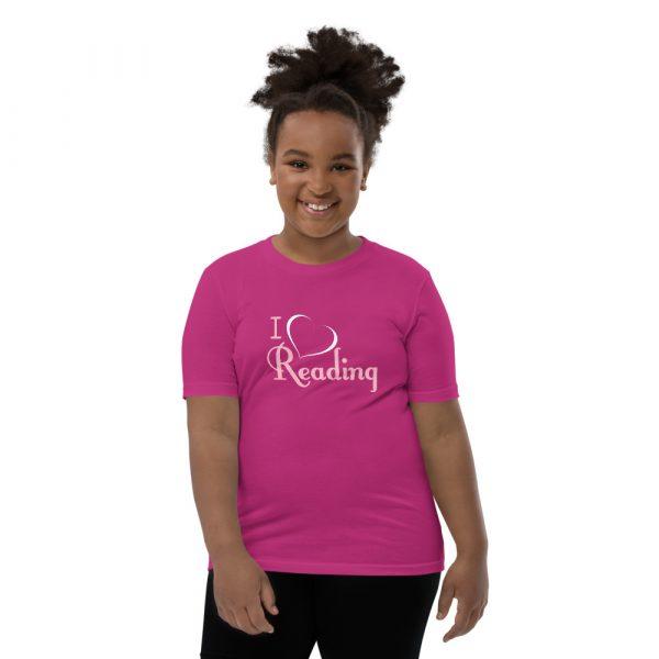 I Love Reading - Youth Short Sleeve T-Shirt 1