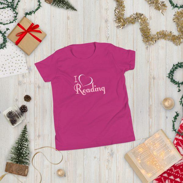 I Love Reading - Youth Short Sleeve T-Shirt 2