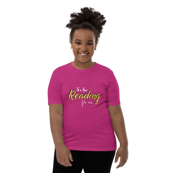It's The Reading For Me - Youth Short Sleeve T-Shirt 8
