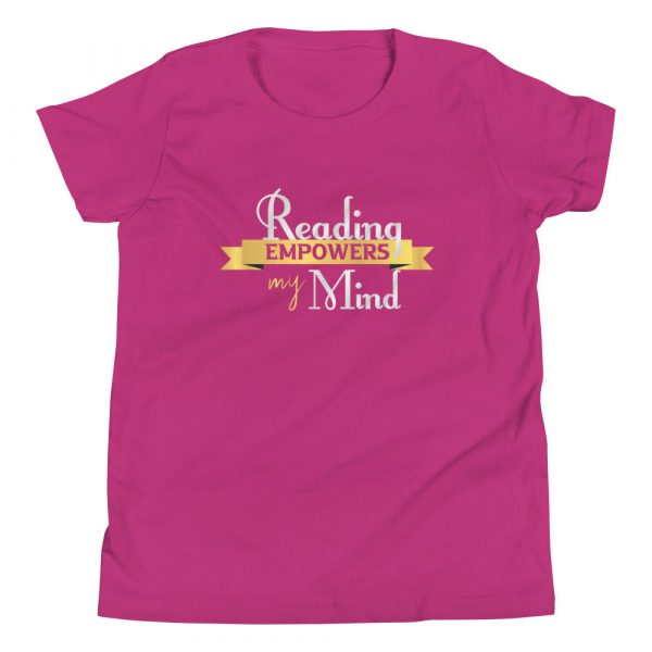 Reading Empowers My Mind - Youth Short Sleeve T-Shirt 9