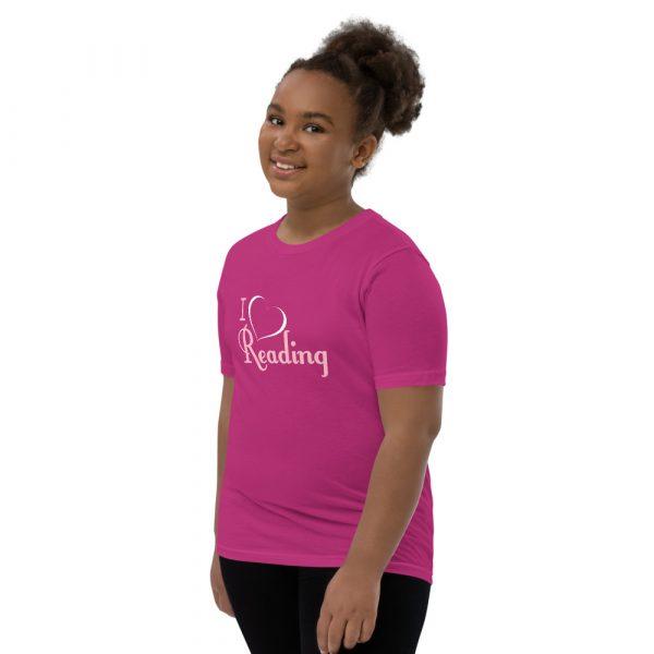 I Love Reading - Youth Short Sleeve T-Shirt 8