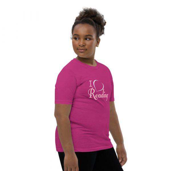 I Love Reading - Youth Short Sleeve T-Shirt 9