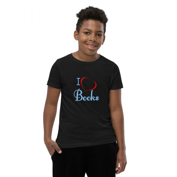 I Love Books - Youth Short Sleeve T-Shirt 1