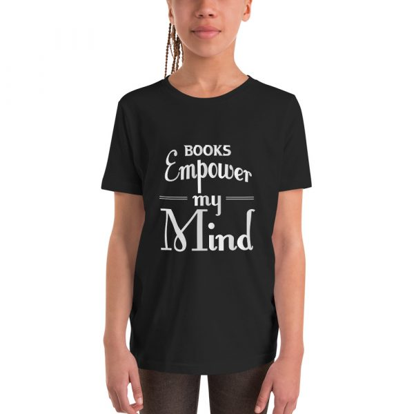Books Empower My Mind - Youth Short Sleeve T-Shirt 2