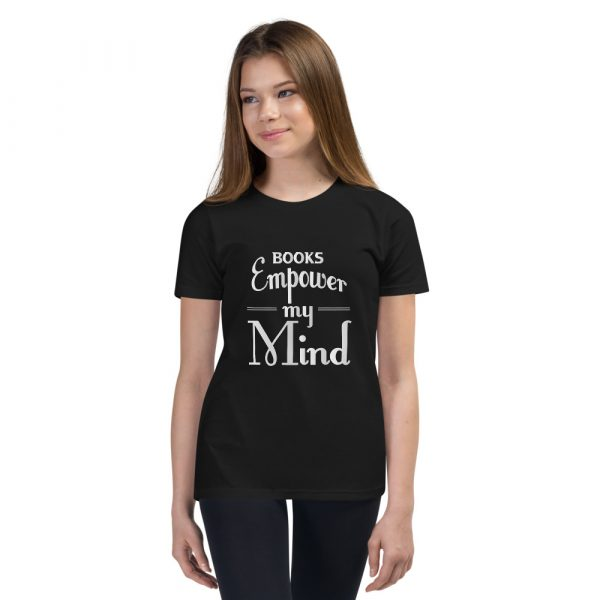Books Empower My Mind - Youth Short Sleeve T-Shirt 4