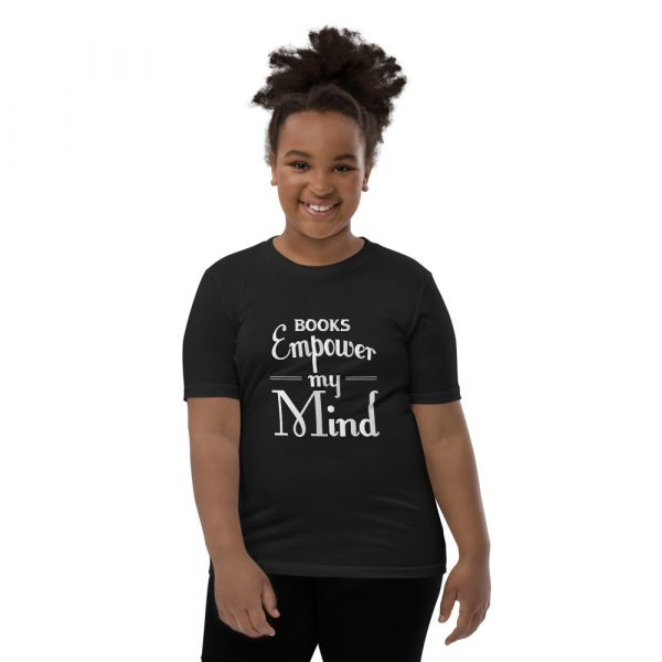 Books Empower My Mind - Youth Short Sleeve T-Shirt 6