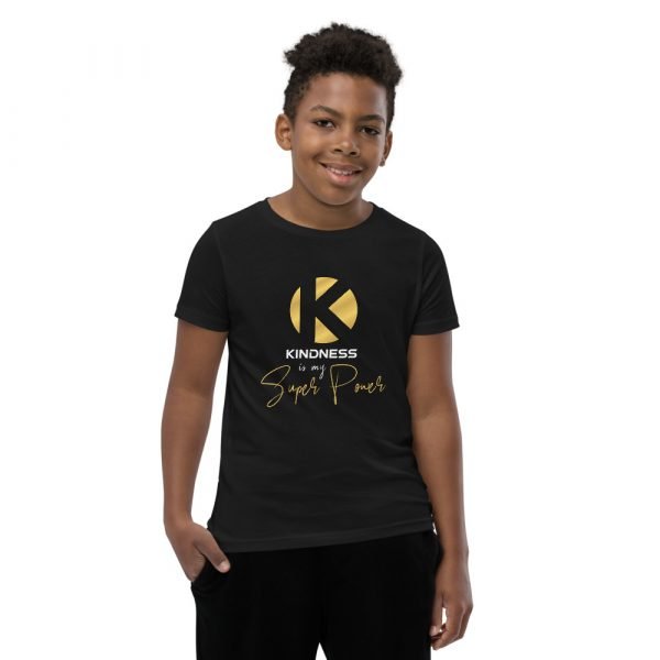 Kindness Is My Super Power - Youth Short Sleeve T-Shirt 1