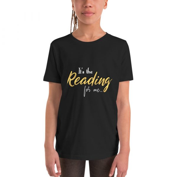 It's The Reading For Me - Youth Short Sleeve T-Shirt 2