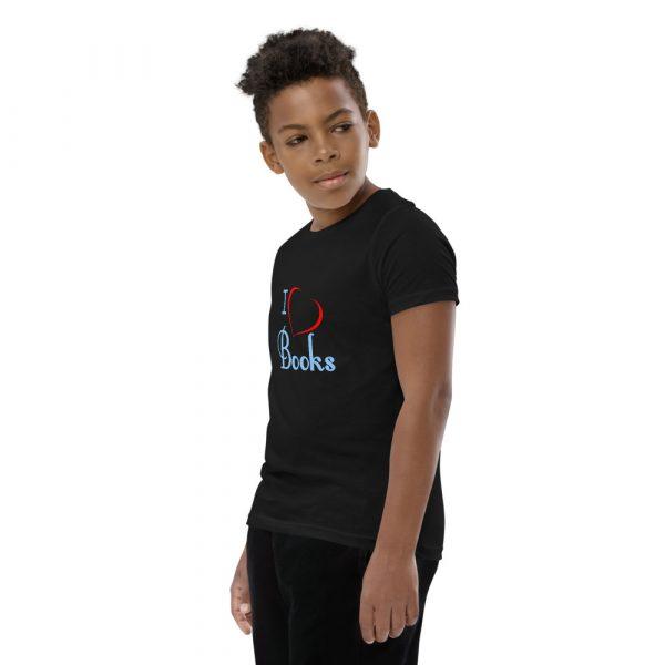 I Love Books - Youth Short Sleeve T-Shirt 5