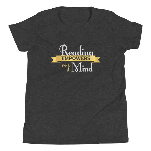 Reading Empowers My Mind - Youth Short Sleeve T-Shirt 7