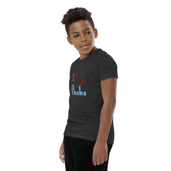 I Love Books - Youth Short Sleeve T-Shirt 11