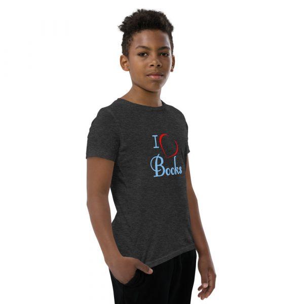 I Love Books - Youth Short Sleeve T-Shirt 12