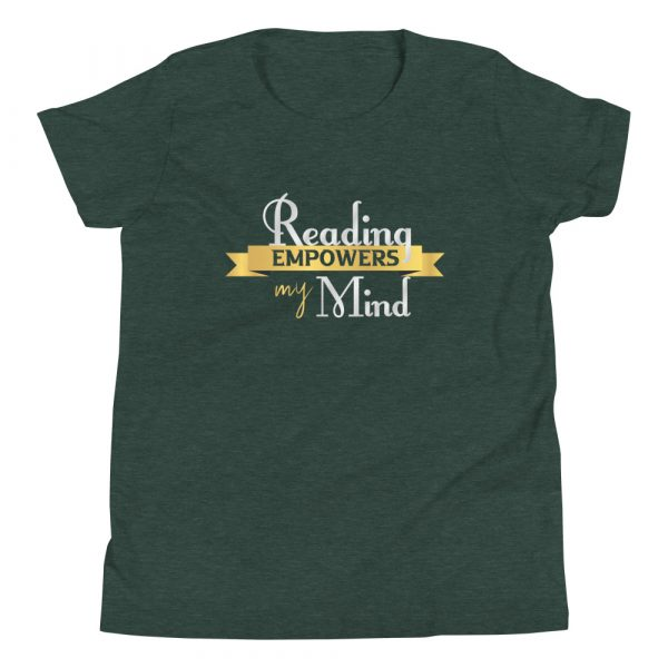 Reading Empowers My Mind - Youth Short Sleeve T-Shirt 1
