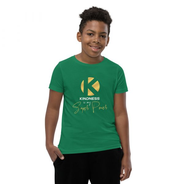 Kindness Is My Super Power - Youth Short Sleeve T-Shirt 9