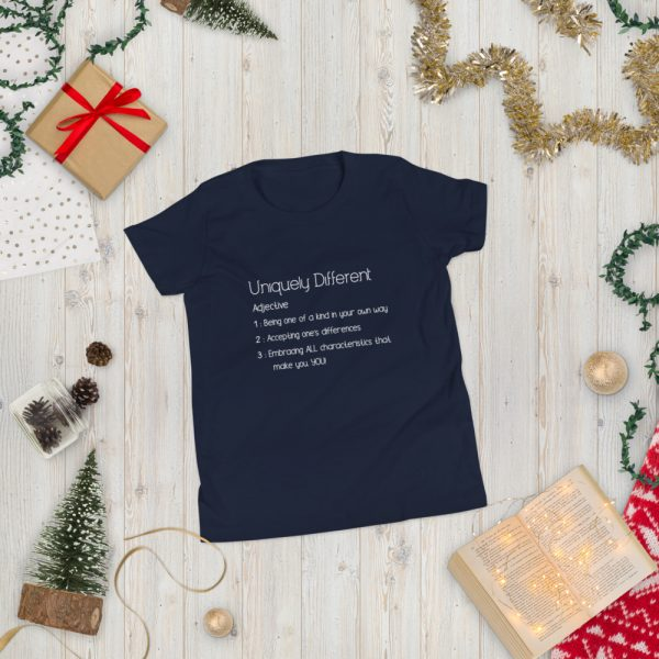Uniquely Different Definition - Youth Short Sleeve T-Shirt 2