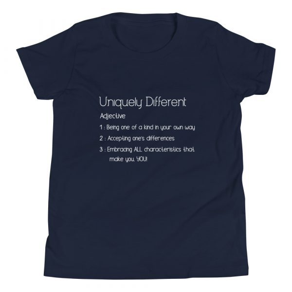 Uniquely Different Definition - Youth Short Sleeve T-Shirt 3