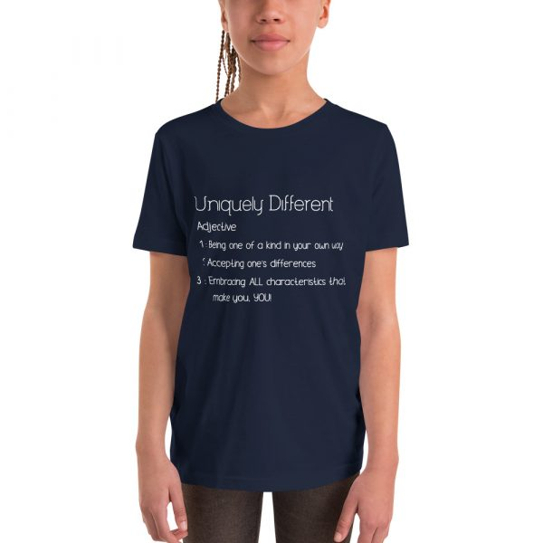 Uniquely Different Definition - Youth Short Sleeve T-Shirt 4