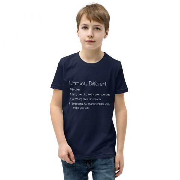 Uniquely Different Definition - Youth Short Sleeve T-Shirt 6
