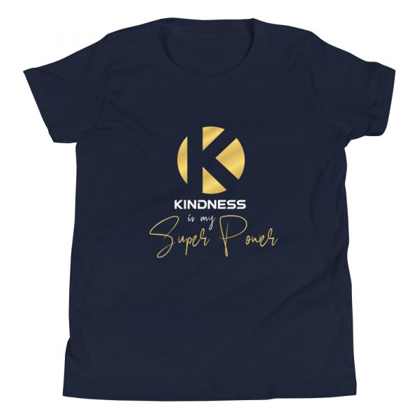Kindness Is My Super Power - Youth Short Sleeve T-Shirt 2