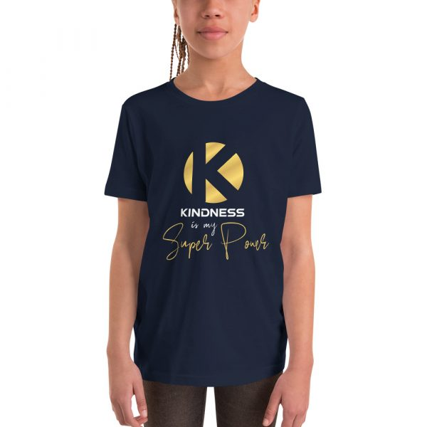 Kindness Is My Super Power - Youth Short Sleeve T-Shirt 3