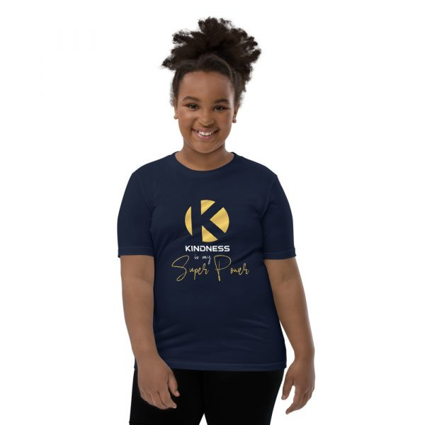 Kindness Is My Super Power - Youth Short Sleeve T-Shirt 4