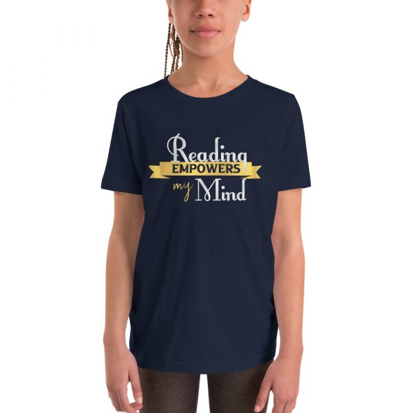 Reading Empowers My Mind - Youth Short Sleeve T-Shirt 2