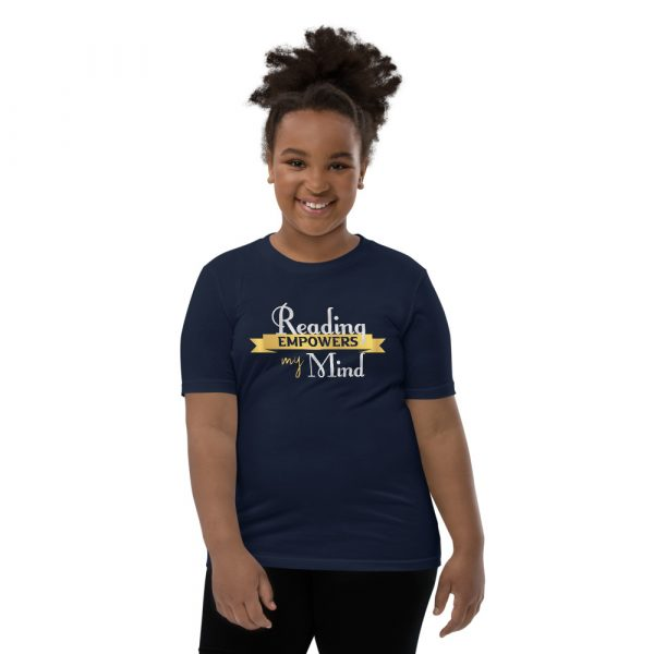Reading Empowers My Mind - Youth Short Sleeve T-Shirt 4