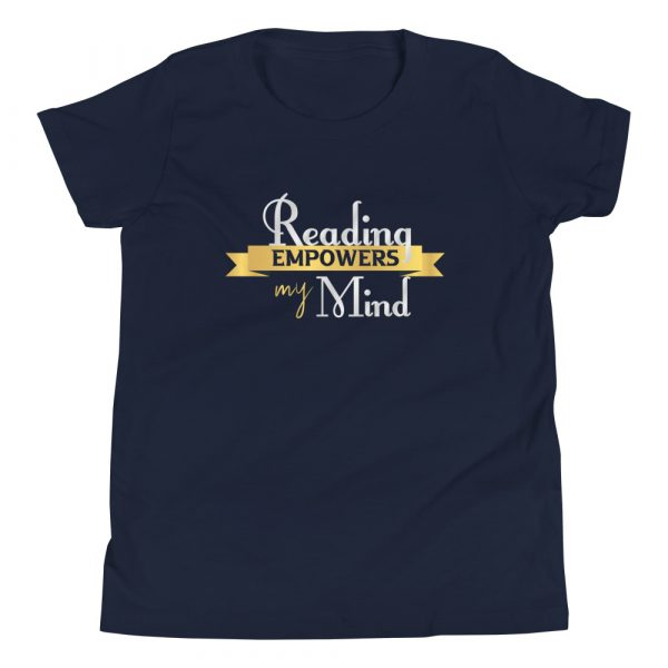 Reading Empowers My Mind - Youth Short Sleeve T-Shirt 6