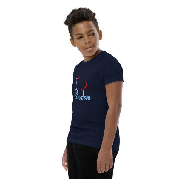 I Love Books - Youth Short Sleeve T-Shirt 8