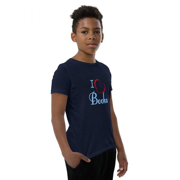 I Love Books - Youth Short Sleeve T-Shirt 9