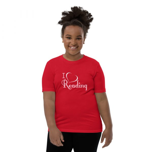 I Love Reading - Youth Short Sleeve T-Shirt 5