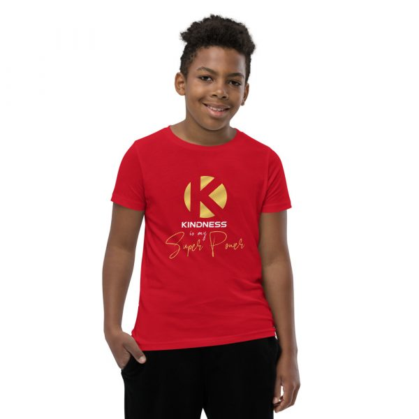 Kindness Is My Super Power - Youth Short Sleeve T-Shirt 6