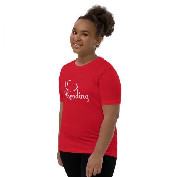 I Love Reading - Youth Short Sleeve T-Shirt 6