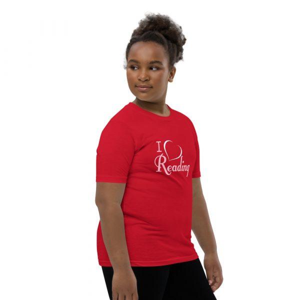 I Love Reading - Youth Short Sleeve T-Shirt 7