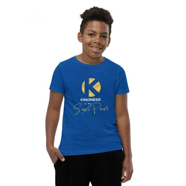 Kindness Is My Super Power - Youth Short Sleeve T-Shirt 7