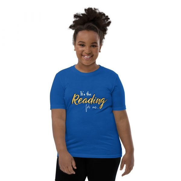 It's The Reading For Me - Youth Short Sleeve T-Shirt 7