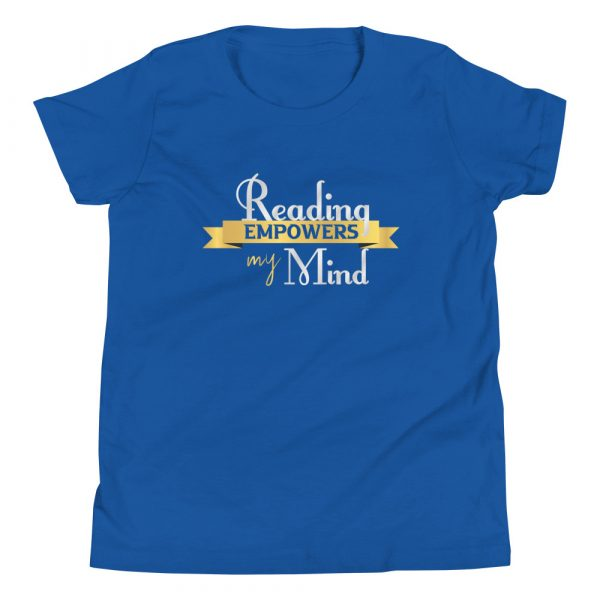 Reading Empowers My Mind - Youth Short Sleeve T-Shirt 8