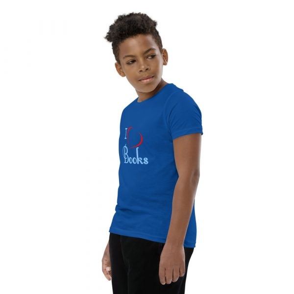 I Love Books - Youth Short Sleeve T-Shirt 14