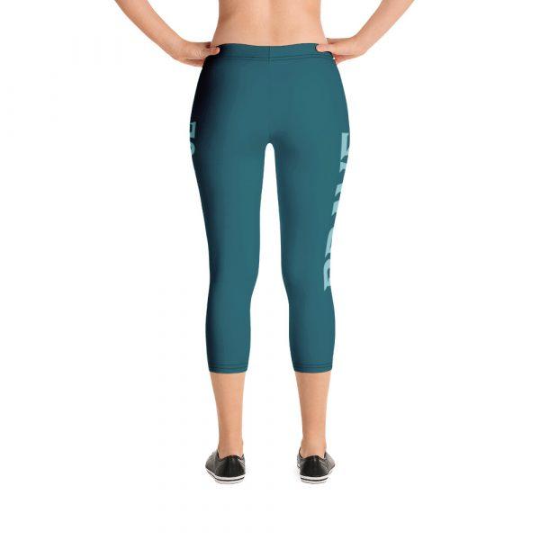 I Am Brave I Am Powerful - Women's Capri Leggings 3