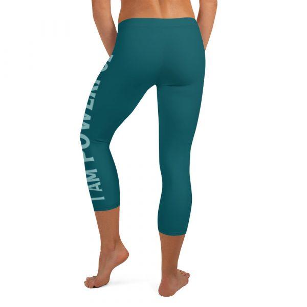 I Am Brave I Am Powerful - Women's Capri Leggings 5