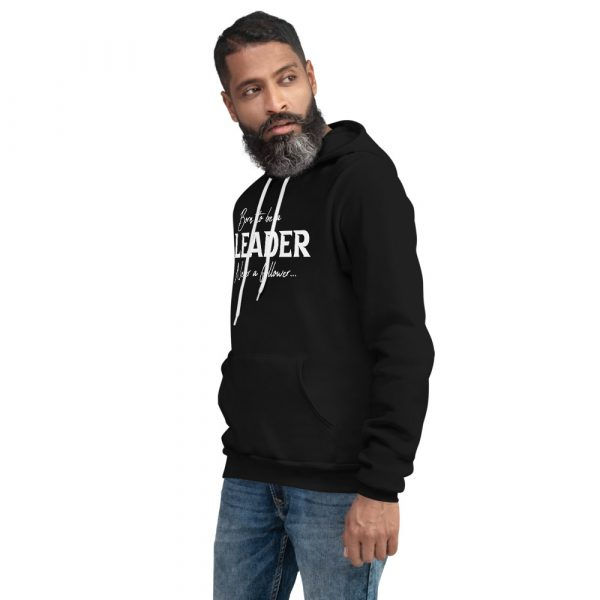 Born To Be A Leader Never A Follower - Men's hoodie 5