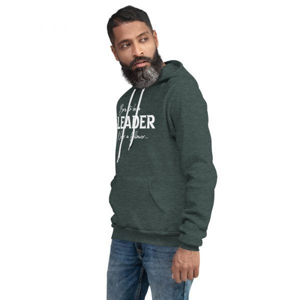 Born To Be A Leader Never A Follower - Men's hoodie 8