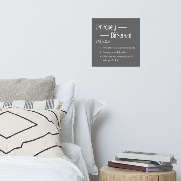 Uniquely DIfferent - Poster 5