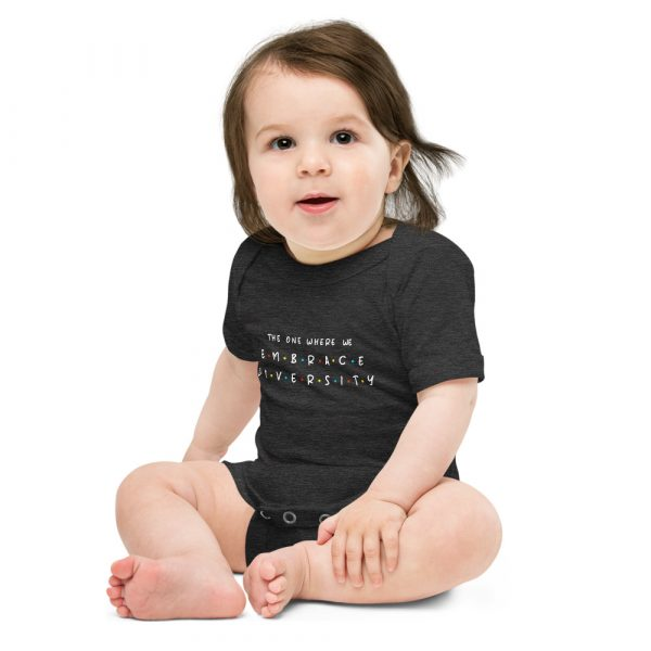The One Where We Embrace Diversity - Toddler Onsie 1