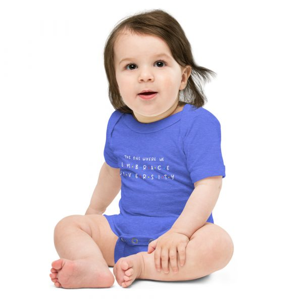 The One Where We Embrace Diversity - Toddler Onsie 3